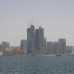 Skyline von Abu Dhabis