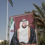 Straßenszene in Abu Dhabi