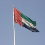 Die Flagge der VAE