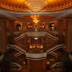 Innenaufnahme des Emirates Palace Hotel