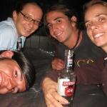 Nach getaner Arbeit gibt's den wohlverdienten Drink mit Nacho & Oscar aus Mexico! Yes, Smirnoff Ice!!