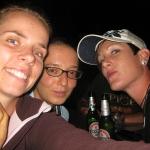 Zusammen mit Tara und seit Ewigkeiten mal wieder ein Becks!