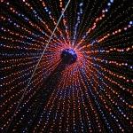 Cooles Lichterspektakel unter Auckland's größtem Weihnachtsbaum