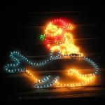 """Hier kommt Santa Claus mal ganz originell als """"Whale Rider"""""""