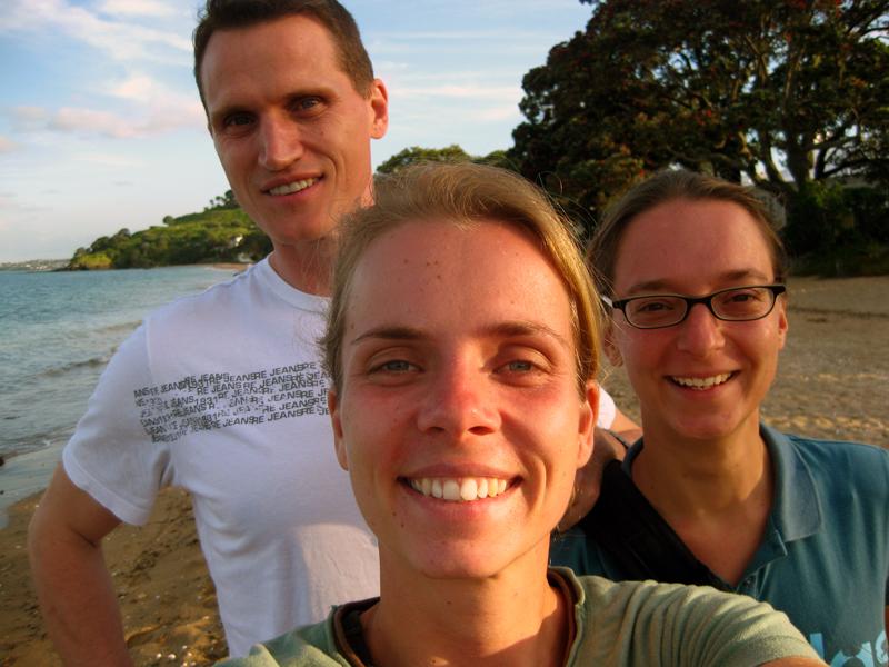Gary unser südafrikanischer Mitbewohner hat uns mit zum Strand genommen! YES!
