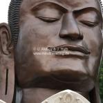 Buddhafigur in Ayutthaya / Thailand