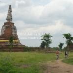 Radtour in Ayutthaya / Thailand