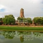Wat Phraram in Ayutthaya / Thailand