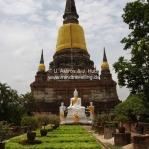 Stupas und Tempel in Ayutthaya / Thailand