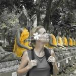 im Tempel in Ayutthaya / Thailand