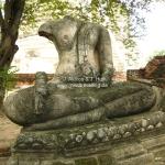 Überbleibsel im Wat Phra Si Saripeth in Ayutthaya / Thailand