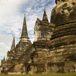 Wat Phra Si Saripeth in Ayutthaya / Thailand
