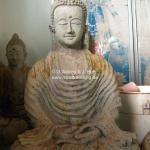 Buddhafigur aus Stein