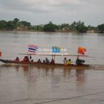 Longboat Race auf dem Mekong