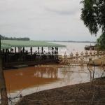 Der Mekong läuft über