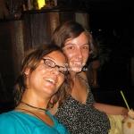 Kristina und Birte strahlen nach ihrem Yogakurs ;-)