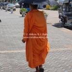 Spazierender Mönch