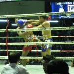 Muay Thai / Thai Kickboxen im Lumphini Stadium in Bangkok