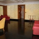 Der Toiletten-Vorraum im Empire Hotel in Bandar Seri Begawan / Brunei