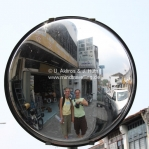 Straßenszene in Penang / Georgetown / Malaysia