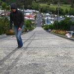 ... die Baldwin Street in Dunedin die...