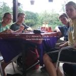 Mittagessen im Taman Negara Nationalpark / Malaysia