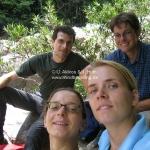 Gruppenfoto im Taman Negara Nationalpark