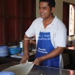 Ein perfektes Roti Chennai