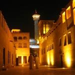 Das Bastakia Viertel in Bur Dubai