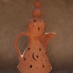 Typisch orientalische Kaffeekanne