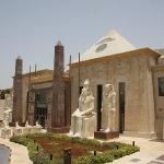 Die Wafi Mall im Ägypten Stil, manchmal ein bißchen wie in Las Vegas