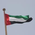 Die Flagge der Vereinigten Arabischen Emirate sieht der Flagge Kuwaits sehr ähnlich