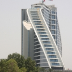 Das Jumeirah Beach Hotel in Form einer Welle