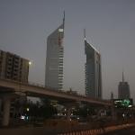 Die Türme der Emirates Airlines