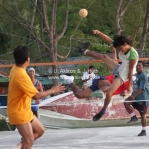Sepaktakraw auf Pulau Tioman