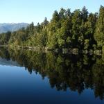 Der berühmte Spiegelsee Lake Matheson