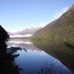 Mirror Lakes sind hier hinter jeder Kurve zu entdecken!
