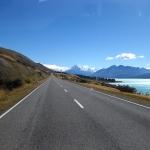 Grandiose Views auf dem Weg zum Mount Cook