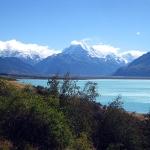 Der Lake Tekapo ist so unglaublich türkis blau