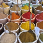 Gewürze auf dem Anjuna Markt in Goa