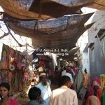Tempeleingang in Dwarka / Gujarat / Indien
