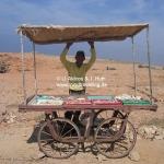Verkäufer in Dwarka / Gujarat / Indien