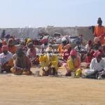 Sadhus in Dwarka / Gujarat / Indien
