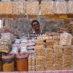 Verkaufsstand in Dwarka / Gujarat / Indien