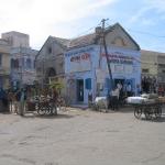 Straßenszene in Dwarka / Gujarat / Indien