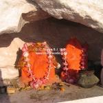 Schrein auf Berg Girnar (bei Junagadh) / Gujarat / Indien