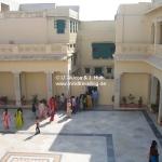 Gandhi's Geburtshaus in Porbandar / Gujarat / Indien
