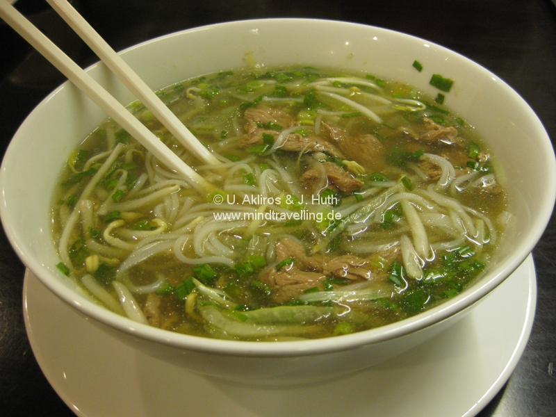 "Pho Bo - ""the meal that build the nation"""