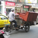 Vietnamesicher Möbeltransport in HCMC / Vietnam