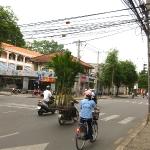 Straßenszene in HCMC / Vietnam